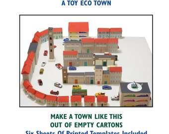 "My Toy Eco Town "" Use Recycled Cartons To Make A Small Eco Town For Children To PlayWith """