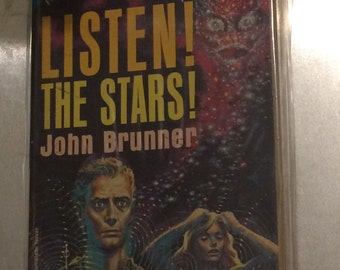 Listen! The Stars/The Rebellers by John Brunner /Jane Roberts Ace Double Sided
