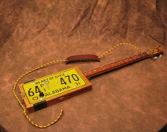 Cigar Box Guitar 3 String