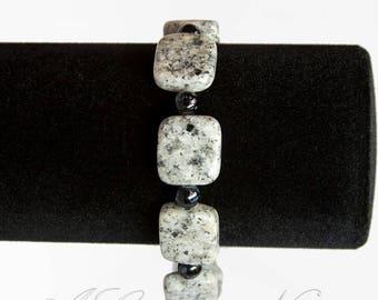 Marbled Tile Bracelet