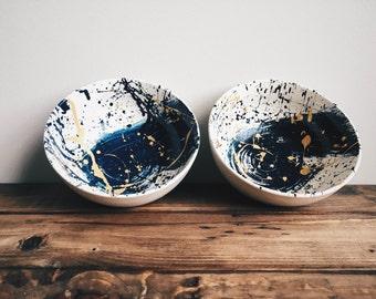 Hand Painted Bowls Set