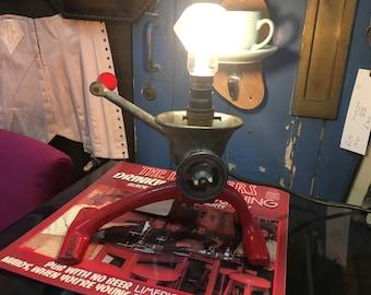 Spong mincer lamp