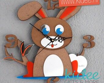 Childrens Clock Bunny
