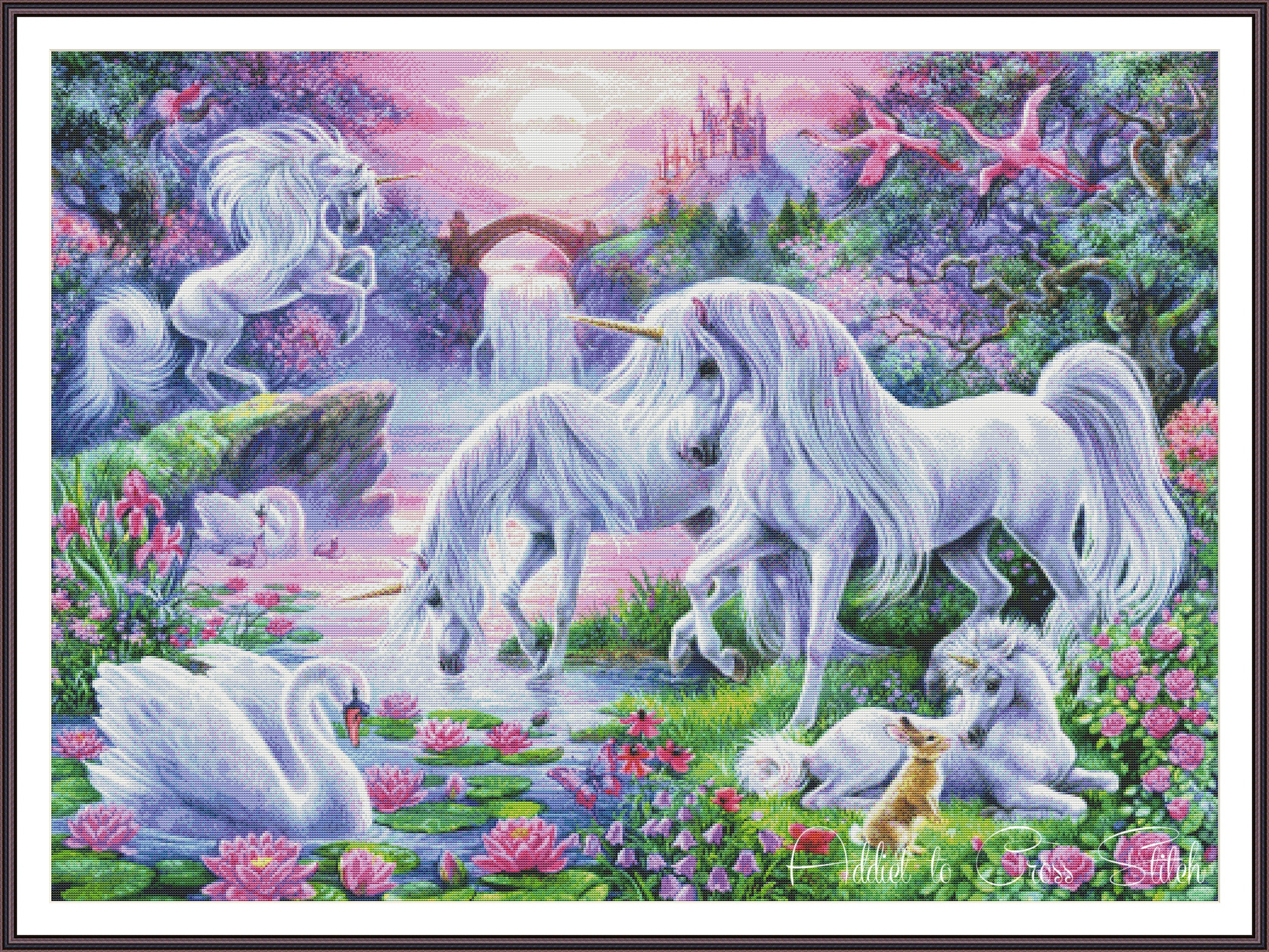 Cross Stitch Pattern Unicorns