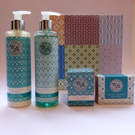 The White Mint & Jasmine Luxury Natural Organic Gift Box