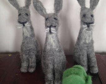 Folk Art Bunnies