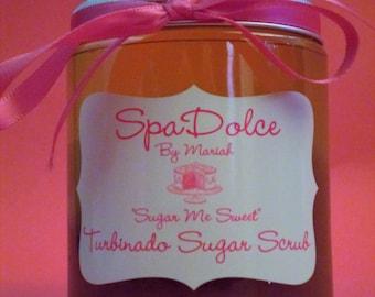 "SpaDolce ""Sugar Me Sweet"" Turbinado Sugar Scrub"