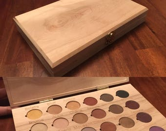 Arbonne Eye Shadow Wooden Box