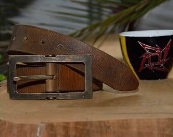 Belt, Leather Belt, Mens Belt, Mens Leather Belt,  Brown Leather Belt, Full Grain Leather Belt
