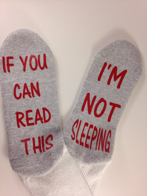 Socks if you can read this...I'm  not sleeping