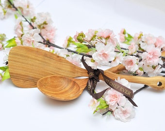Cherry Tree wooden cookware set