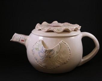 ceramic teapot. original creation.