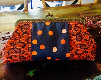 Large Fabric Clutch Purse