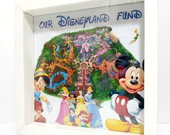 DISNEY Money Box frame,  / Saving money box / Saving Frame