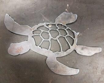 Sea Turtle - Plasma Art