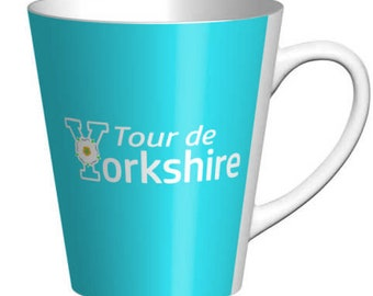 Tour de Yorkshire  Latte Earthenware Mug