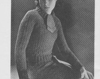 1937 Teen Simple Jumper