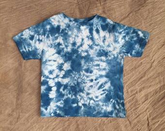 Blue Toddler T Shirt, Size 2T, toddler tie-dye, Cute Kids Tie Dye, Kids blue tye dye, Toddler Tye Dye, Toddler Boy T Shirt, RS0417185