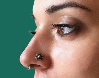 Rajasthan Jewelry Silver Nose Stud