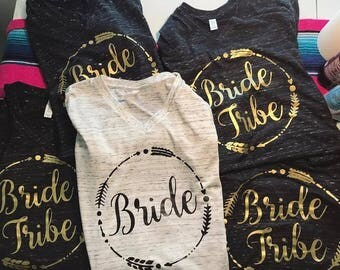 Bride Tribe, Bride, Bachlorette, Wedding, Loose fitting, Womans Clothing