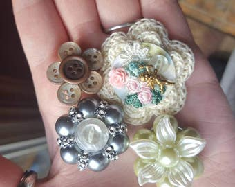 Handmade Embellishment, flower center 4