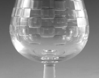 "EDINBURGH Crystal - SKIBO Cut - Brandy Glass / Glasses - 5"" (1st)"