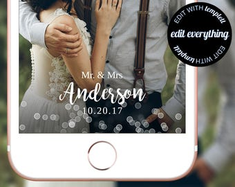 Wedding Snapchat Geofilter - Custom Geofilter - Wedding Snapchat Filter - Wedding Geofilter - Custom Snapchat Geofilter - Snapchat Wedding