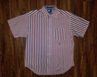 Classic Tommy Hilfiger Vertical Strip Shirt