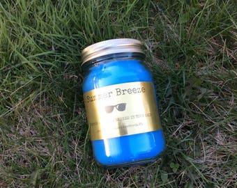 Summer Breeze 16 oz Jar Candle
