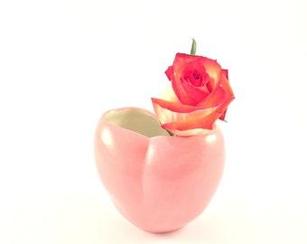 Unique and affordable gift, Pink Ceramic Vase, Pottery Vase, Single Flower Vase, Vase, Modern pottery, Valentine's Vase