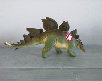 Jurassic Park Toy, The Lost World Jurassic Park Vintage Spike Tail Stegosaurus dinosaur Tail Whip Stegosaurus JP24 Kenner dinosaur figures