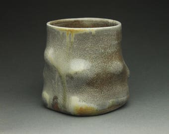 Wood Fired Celadon Cup