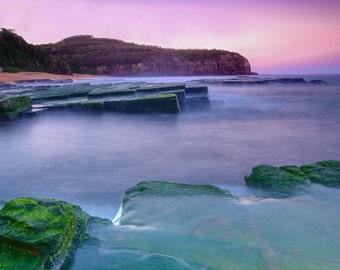 Turimetta Beach, Sydney photography, Beach photo, Beach photography, Ocean sunset, Coastal Print, Home Decor, Coastal Art, Beach wall art