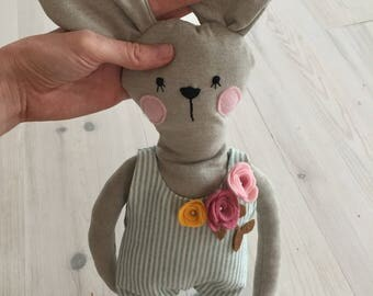 BALANCE doll stuffed animal rabbit baby toy and baby shower gift