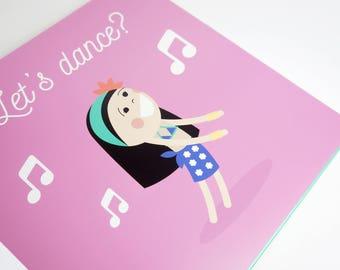 Illustrated Photo Album / Personalised Album / Personalisierte Geschenke / Personalised gift / Illustrated Book
