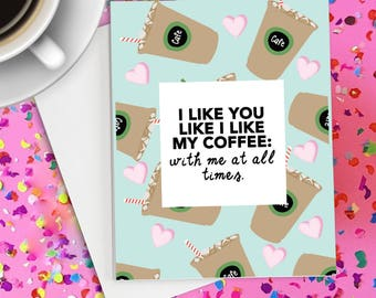 Love Card, Anniversary Card for him, Anniversary Card for her, Funny love card, Card for boyfriend, cute card for him, funny anniversary