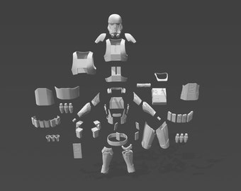 Rogue 1 Death Trooper Armour