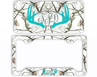 Antler License Plate Etsy