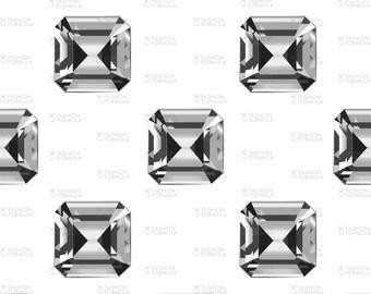 Diamonds Fabric by LydiaKay