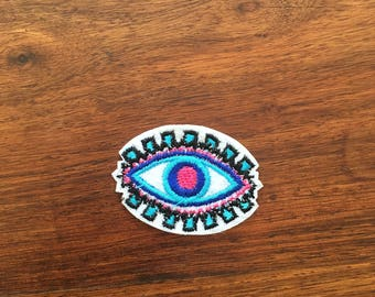 Eye Patch - Iron on Appliqué Patch