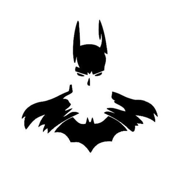 Vinyl Decal Sticker - Batman Forever Sillhouette decal inspired by Justice League for Windows, Cars, Laptops, Macbook etc