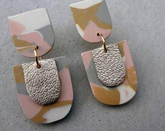The Groom - Nomad / Polymer Clay Earrings / Stud Earrings / Drop Earrings