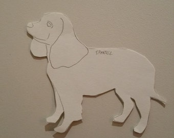 Personalised Spaniel Pattern 4