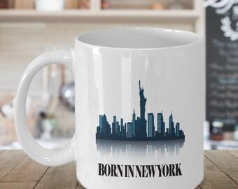 New York State Mug - ANY state, Ceramic Mug, Student gift, Dorm Decor,State Coffee Mug,Tea Mug,Gift under 20,Kitchen Drinkware,Moving Away
