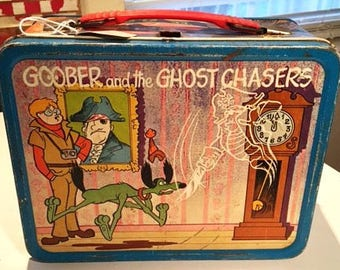 Vintage Lunchbox- Goober & the Ghost Chasers/Inch High Private Eye