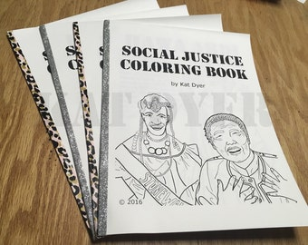 Social Justice Coloring Book Volume 1