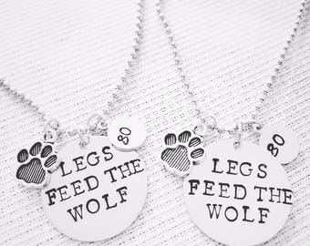 Miracle Movie Quotes hand-stamped Necklaces
