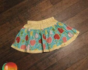 Apple Twirly Skirt ~ Size 5