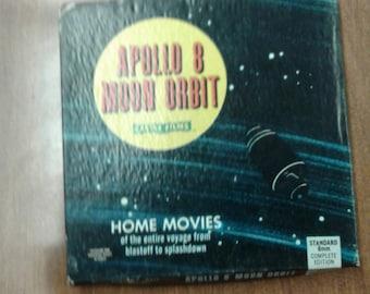 Apallo 8 Moon Orbit 8mm Vintage Home Movie
