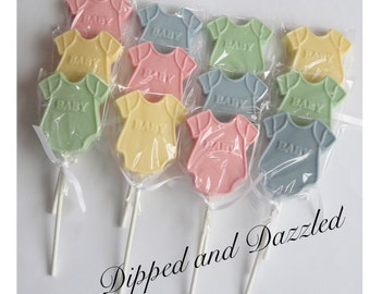 Baby Shower Chocolate Lollipops Baby Girl Boy Party Favors Centerpiece
